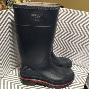 SERVIS By Honeywell Rain Boots Rubber size 5